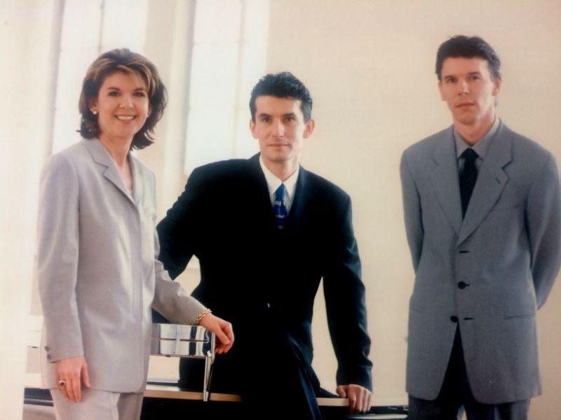 1993 Übergabe Hefel Wohnbau