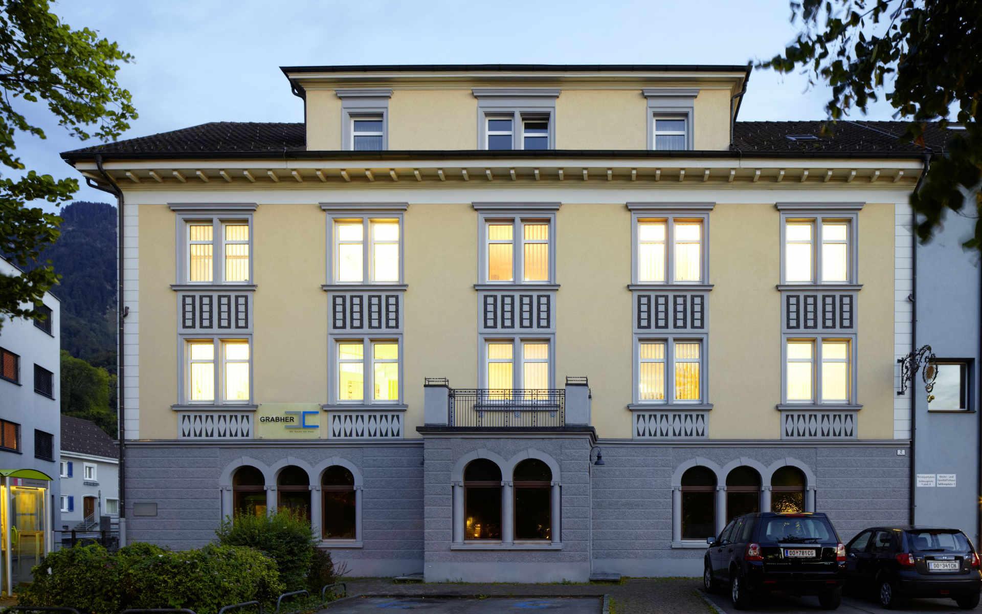 Hefel Wohnbau Historie Grabher