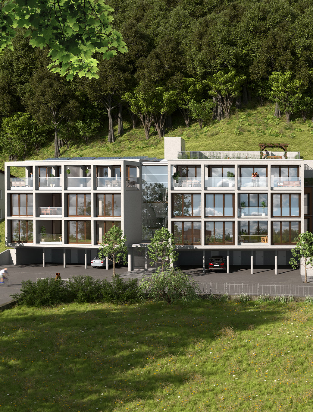 Wohnanlage Weißachergasse, Dornbirn Bild5