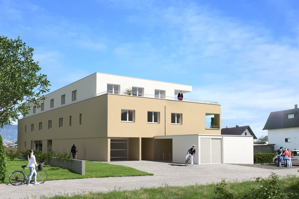 Wohnanlage Hochstegstraße, Hörbranz Bild1