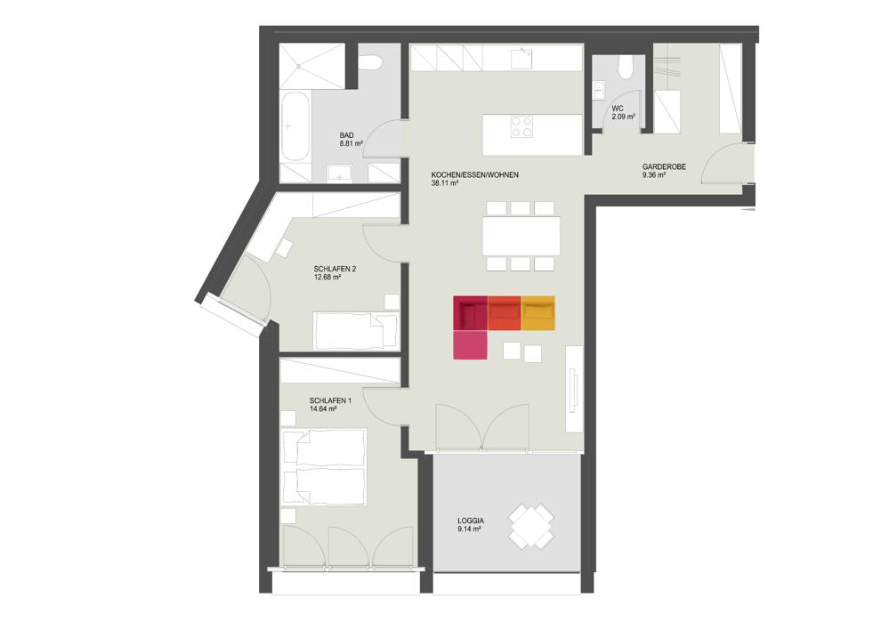 Haus 25 TOP 07 Bild5