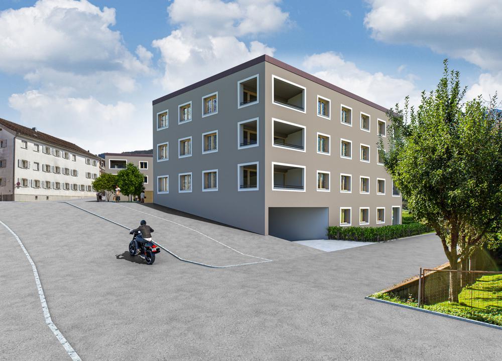Wohn- und Geschäftshaus Hauptmann-Frick-Straße Bild1